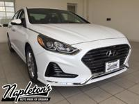 New Price! 2018 Hyundai Sonata in White, AUX