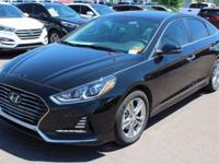 2018 Hyundai Sonata SEL Gray. 35/25 Highway/City MPG