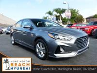 2018 Hyundai Sonata SEL Black. 35/25 Highway/City MPG