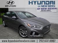 Recent Arrival!  Gray 2018 Hyundai Sonata Sport 2.0T