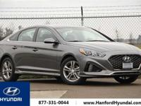 Machine Gray 2018 Hyundai Sonata Sport FWD 6-Speed