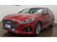 This 2018 Hyundai Sonata  has a L4, 2.4L high output