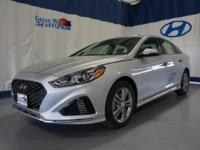 Gray 2018 Hyundai Sonata Sport FWD 6-Speed Automatic