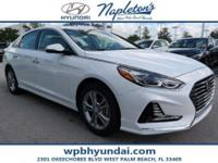 2018 Hyundai Sonata Limited White Leather. 35/25