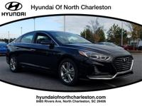 Phantom Black 2018 Hyundai Sonata Limited FWD 6-Speed