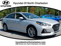 Silver 2018 Hyundai Sonata FWD 6-Speed Automatic with