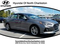 Machine Gray 2018 Hyundai Sonata FWD 6-Speed Automatic