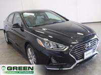 Phantom Black 2018 Hyundai Sonata SEL FWD 6-Speed