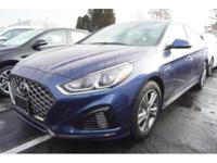 Treat yourself to this 2018 Hyundai Sonata Sport, which