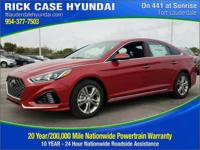 Recent Arrival! Black Cloth. Scarlet Red 2018 Hyundai