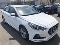 $6,449 off MSRP! 2018 Hyundai Sonata SEL White Factory