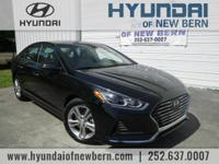 Recent Arrival!  Phantom Black 2018 Hyundai Sonata