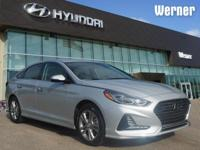 Silver 2018 Hyundai Sonata Limited FWD 6-Speed