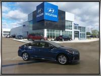 New Price! Blue 2018 Hyundai Sonata Sport+ FWD 6-Speed