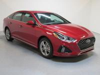 Red 2018 Hyundai Sonata Sport+ FWD 6-Speed Automatic