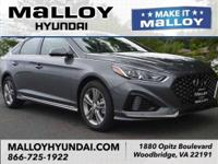 Recent Arrival! Black Cloth.  Machine Gray 2018 Hyundai