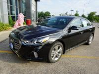 Phantom Black 2018 Hyundai Sonata Sport+ FWD 6-Speed
