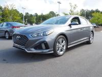 35/25 Highway/City MPG  Gray 2018 Hyundai Sonata Sport+