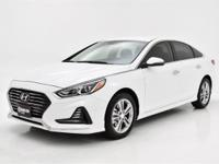 This handsome 2018 Hyundai Sonata is the rare family