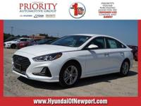 For a smoother ride, opt for this 2018 Hyundai Sonata