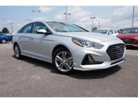 2018 Silver Hyundai Sonata SEL 6-Speed Automatic with