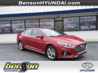 Sonata Sport and Scarlet Red. Smile as you swiftly