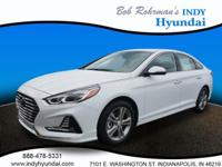 2018 Hyundai Sonata White WITH SOME AVAILABLE OPTIONS