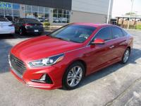 2018 Hyundai Sonata SEL Red WITH SOME AVAILABLE OPTIONS