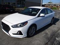 Recent Arrival! 2018 Hyundai Sonata SEL White WITH SOME