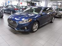 2018 Hyundai Sonata Sport Blue WITH SOME AVAILABLE