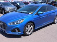 2018 Hyundai Sonata Sport Black. 35/25 Highway/City