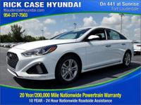 2018 Hyundai Sonata Sport  in White Pearl and 20 year