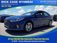 2018 Hyundai Sonata Sport  in Blue and 20 year or