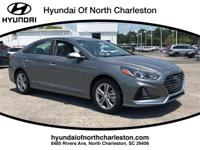 Machine Gray 2018 Hyundai Sonata SEL FWD 6-Speed