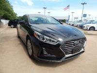 New Price! Phantom Black 2018 Hyundai Sonata SEL FWD