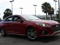 Recent Arrival! 2018 Hyundai Sonata Sport Scarlet Red
