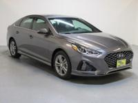 Gray 2018 Hyundai Sonata Sport+ FWD 6-Speed Automatic