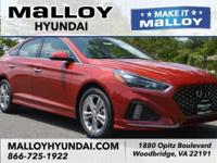 Recent Arrival! Gray Leather.  Scarlet Red 2018 Hyundai