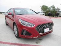 This 2018 Hyundai Sonata Sport+ is proudly offered by