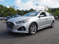 35/25 Highway/City MPG  Silver 2018 Hyundai Sonata
