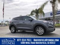 Grey 2018 Hyundai Tucson SE 30/23 Highway/City MPG See