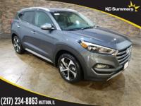 Gray 2018 Hyundai Tucson Limited AWD 7-Speed Automatic