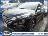 Black 2018 Hyundai Tucson Limited AWD 7-Speed Automatic