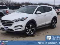 Sturdy and dependable, this 2018 Hyundai Tucson Limited