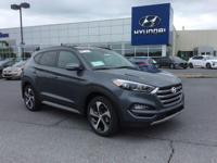 2018 Hyundai Tucson Limited AWD. 28/24 Highway/City MPG