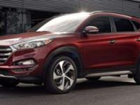 Red 2018 Hyundai Tucson Limited AWD 7-Speed Automatic