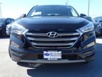Black Pearl 2018 Hyundai Tucson Limited AWD 7-Speed