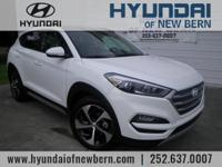 Recent Arrival!  White 2018 Hyundai Tucson Value FWD