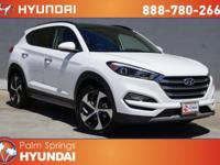 White 2018 Hyundai Tucson Limited FWD 7-Speed Automatic