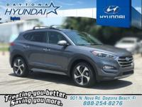 Gray 2018 Hyundai Tucson Limited FWD 7-Speed Automatic
